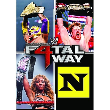 WWE 2010: Fatal Four Way2010: Uniondale, NY: June 20, 2010 (DVD)