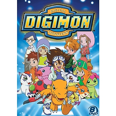Official Digimon Adventure Set - Season 1 (DVD)