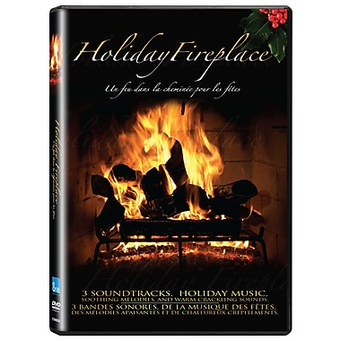 Holiday Fireplace (DVD)