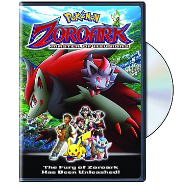Pokemon Zoroark: Master of Illusions (DVD)