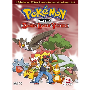 Pokemon DP: Sinno League Victors Set 3 (DVD)