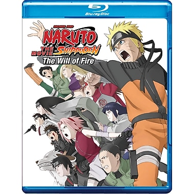 Naruto Shippuden The Movie: The Will of Fire (Movie 3) (Blu-Ray)