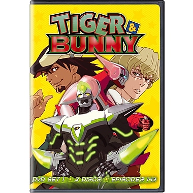 Tiger & Bunny Set 1 (DVD)