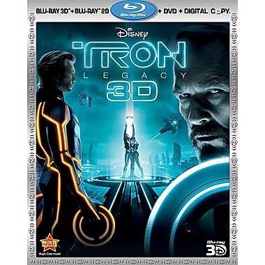 Tron: Legacy 3D (3D Blu-Ray + Blu-Ray + DVD + Digital Copy)