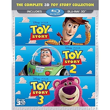The Complete 3D Toy Story Collection, 3D Blu-Ray, collection complète