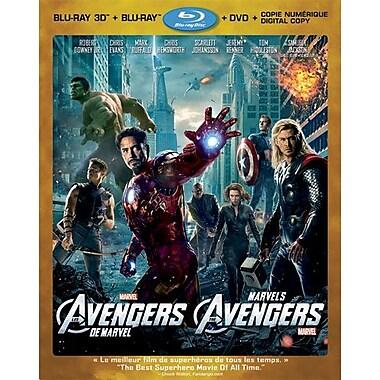 Marvel's The Avengers 3D (3D Blu-Ray + Blu-Ray + DVD + Digital Copy) 2012