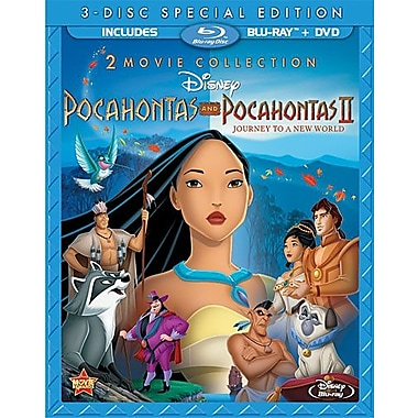 Pocahontas I/Pocahontas II: Journey to a New World (Blu-Ray + DVD)