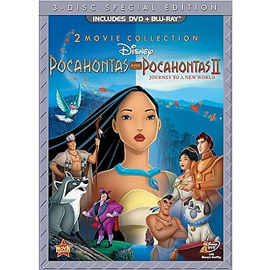 Pocahontas I/Pocahontas II: Journey to a New World (DVD + Blu-Ray)