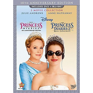 The Princess Diaries 10th Anniversary Collection (DVD + Blu-Ray)
