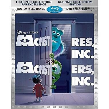 Monsters Inc. 3D (3D Blu-Ray + Blu-Ray + DVD + Digital Copy)