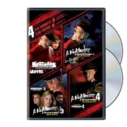 4 Film Favourites: Nightmare on Elm Street 1-4 (DVD)