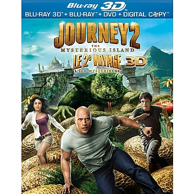 Journey 2: Mysterious Island 3D (3D Blu-Ray + Blu-Ray + DVD + Digital Copy)