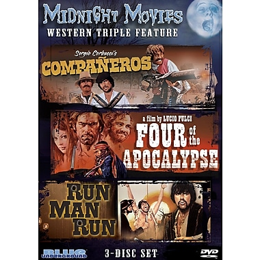 Midnight Movies Volume 2 - Western Triple Feature (DVD)
