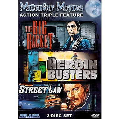 Midnight Movies Volume 3 - Action Triple Feature (DVD)