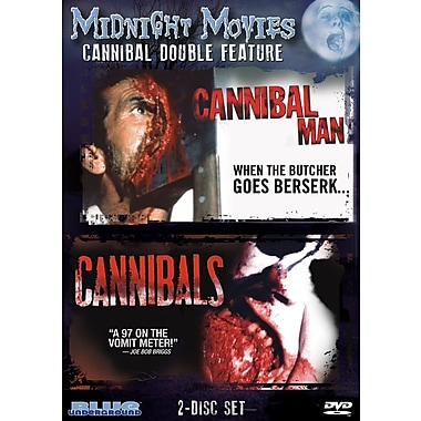 Midnight Movies - Volume 8 - Cannibal Double Feature (Cannibal Man/Cannibals) (DVD)
