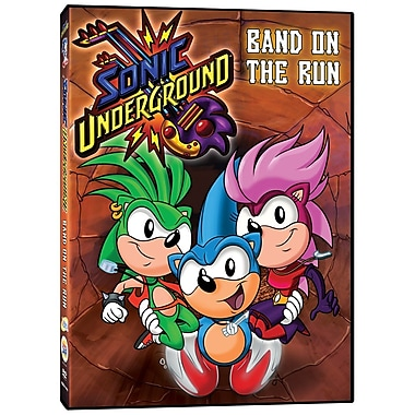 Sonic Underground: Band on the Run (DVD)