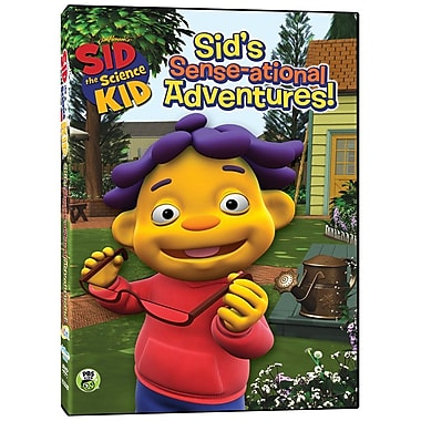 Sid the Science Kid: Sid's Sense-ational Adventures! (DVD)