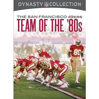 NFL Dynasty Collection - The San Francisco 49ers - The Team Of The 80s (DVD)