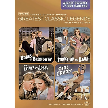 TCM Greatest Classic Films: Legends - Mickey Rooney & Judy Garland (DVD)