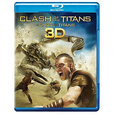 Clash of The Titans 3D (3D Blu-Ray + Blu-Ray + DVD + copie numérique)
