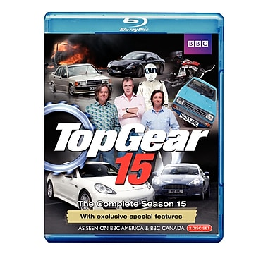 Top Gear 15: The Complete Season 15 (BLU-RAY DISC)