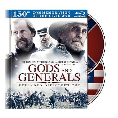 Gods & Generals Director's Cut ( Book) (Blu-Ray)