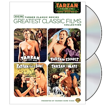 TCM Greatest Classic Films: Tarzan Volume 1 (DVD)
