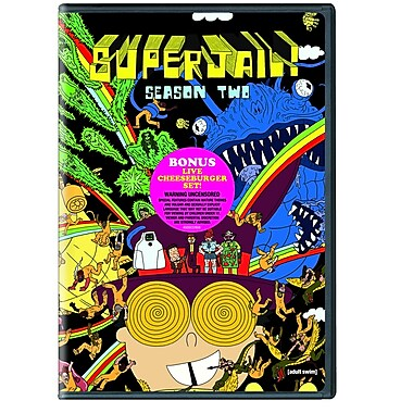 Superjail: Season Two (DVD)