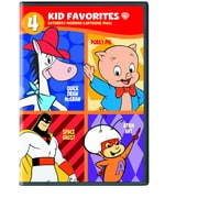 4 Kid Favorites: Saturday Morning Cartoons 1960's (DVD)