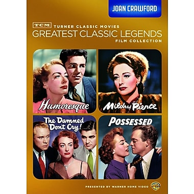 TCM Greatest Classic Films: Legends - Joan Crawford (DVD)