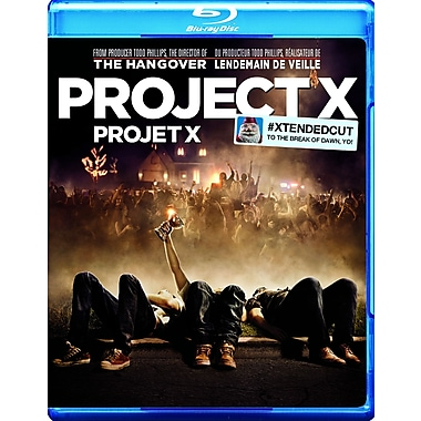 Project X (Blu-Ray + DVD + copie numérique)