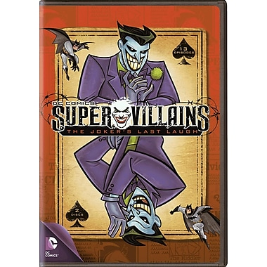 Super Villains: The Joker's Last Laugh (DVD)