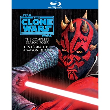 Star Wars Clone Wars: Season 4 (Blu-Ray)