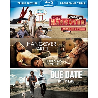 The Hangover/The Hangover Part II/Due Date (Blu-Ray)