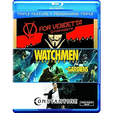 V for Vendetta/Watchmen/Constantine (Blu-Ray)