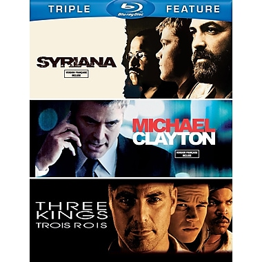 Syrianna/Michael Clayton/Three Kings (Blu-Ray)