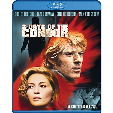 Three Days Of Condor (Ws) (Blu-Ray)
