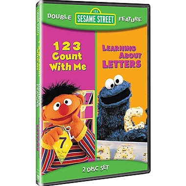 Sesame Street: 123 Count with Me/Sesame Street: Learning About Letters (DVD)