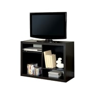Monarch Hollow Core 38 TV Console/ Bookcase, Cappuccino