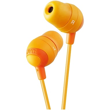 JVC Marshmallow HAFX32D In-Ear-canal Headphone, Orange