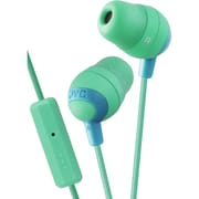 JVC Marshmallow HAFR37G In-Ear-canal Headphone with Mic, Green