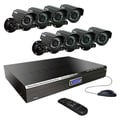 Kworld® KG-CA24-H03 8 Channel Digital Video Recorder With 4 Camera, 8 x 1/4in. CCD