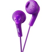 JVC Gumy HAF160 Earbud Headphone, Violet
