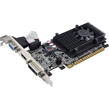 EVGA® 01G-P3-2615-KR GeForce GT 610 1GB PCI-Express 2.0 Plug-In Graphic Card
