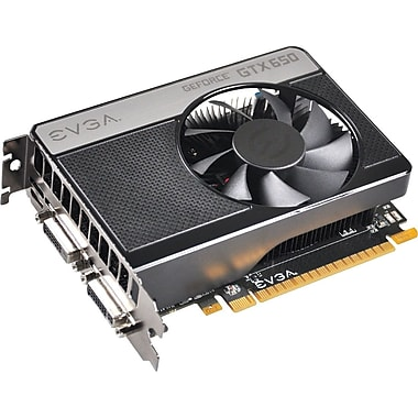 EVGA® GeForce GTX 650 2GB PCI-Express 3.0 Plug-In Graphic Card