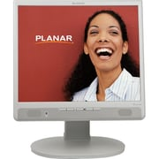 PLANAR® PL Series 17 LCD Monitor With Built-In Speakers, White