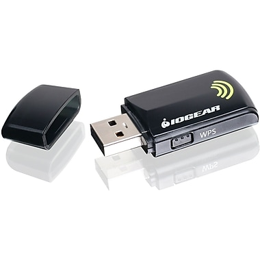 Iogear® GWU625 Compact IEEE 802.11n Wireless-N USB Wi-Fi Adapter