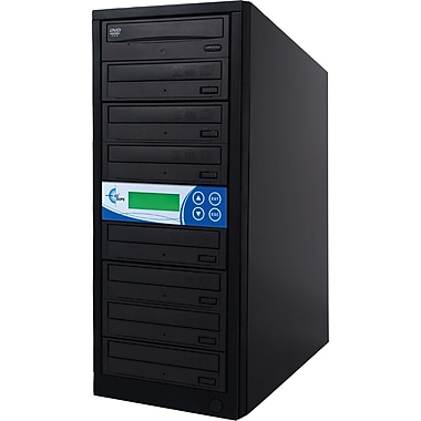 Ezdupe® Gold Premier 1:7 CD/DVD Duplicator, Black