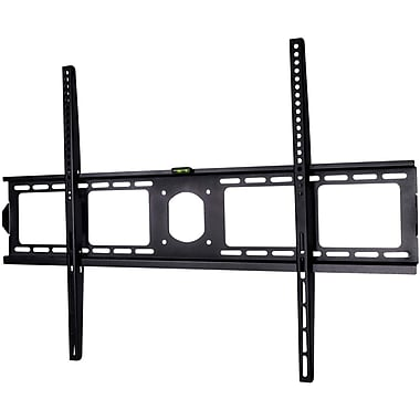 Siig® CE-MT0J11-S1 Low Profile Universal TV Wall Mount With Extension For Up to 70in. Monitor, Black