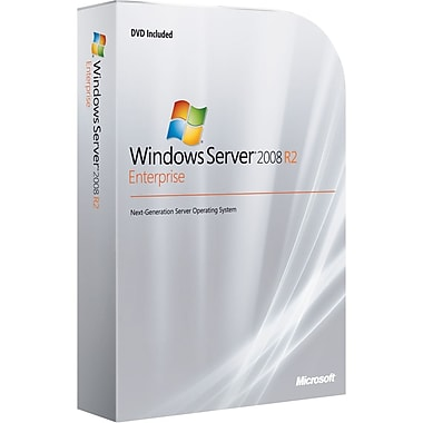 Microsoft® Windows Server 2008 R.2 Enterprise With Service Pack Operating System